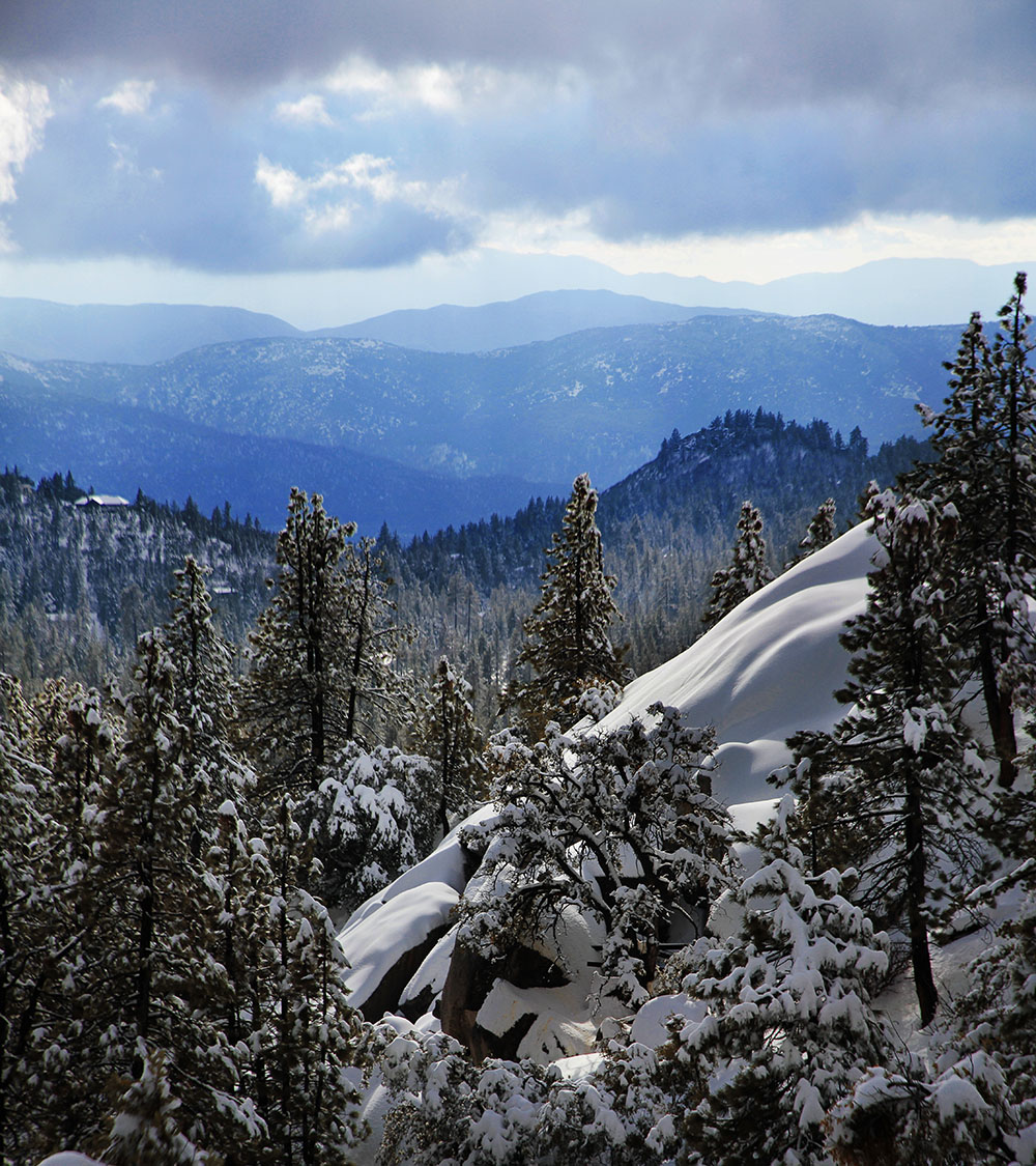 Winter's majestic glow over Idyllwild. Photo by John Drake